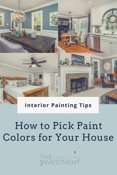 interior painting tips for how to pick paint colors for your house