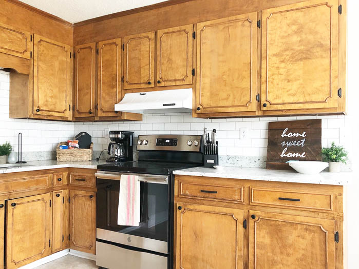 keep existing cabinets to save money in kitchen remodel
