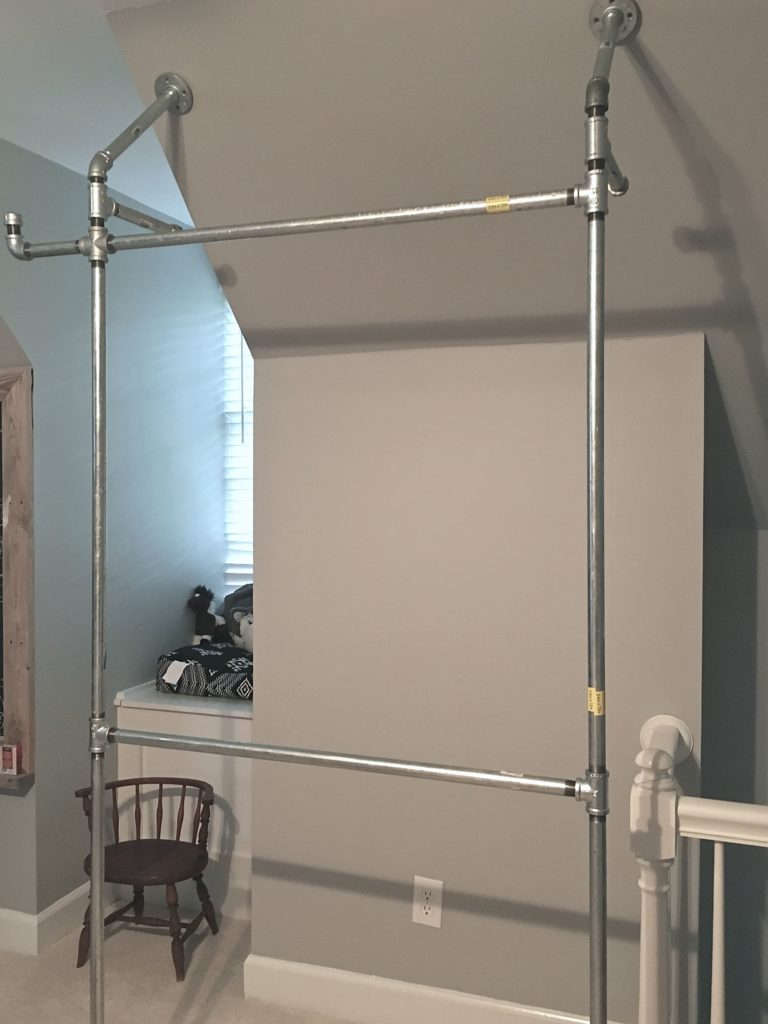 organization wardrobes storage rack industrial chic tutorial hardware ana white how to build