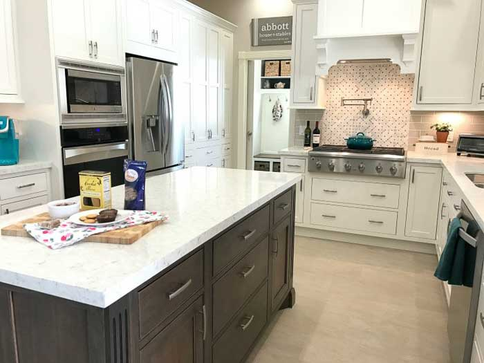 kitchen triangle example by abbots at home