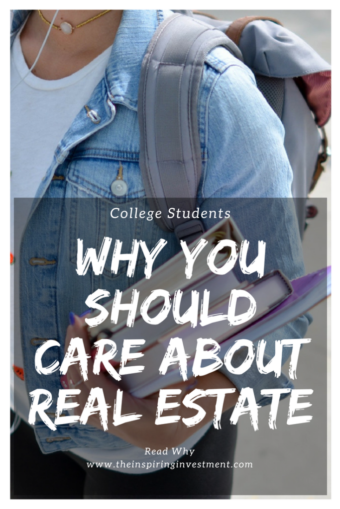 college students care about real estate investor raleigh