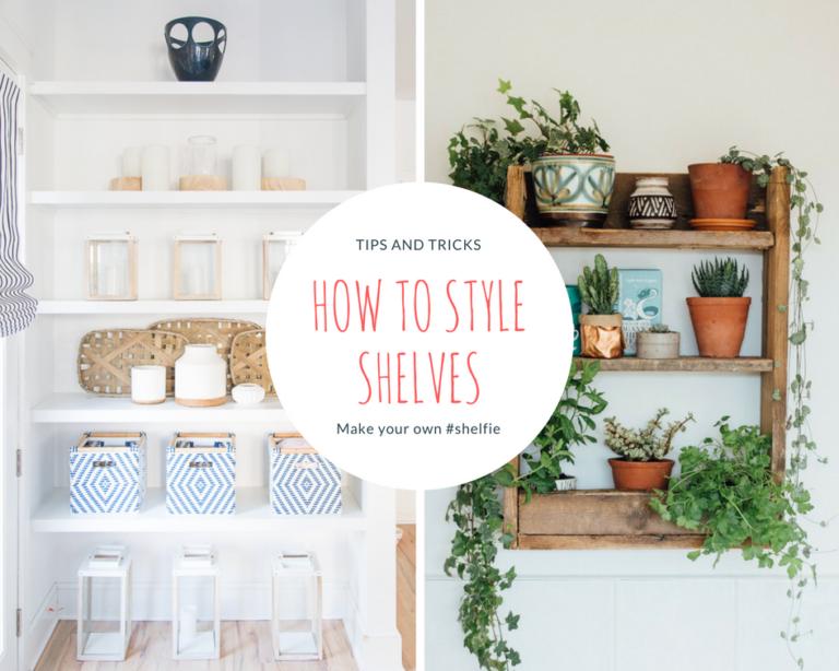 How to Style Shelves Like a Pro