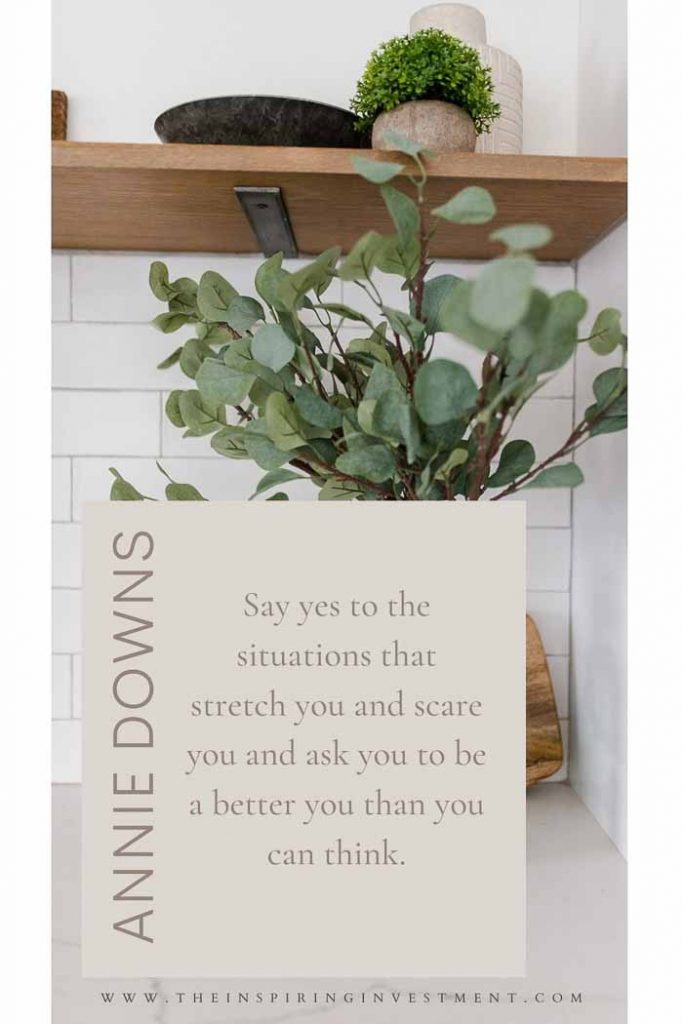 Annie Downs inspirational real estate quotes