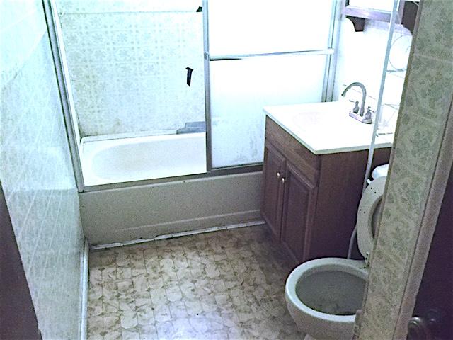 bathroom before renovation remodel raleigh flip