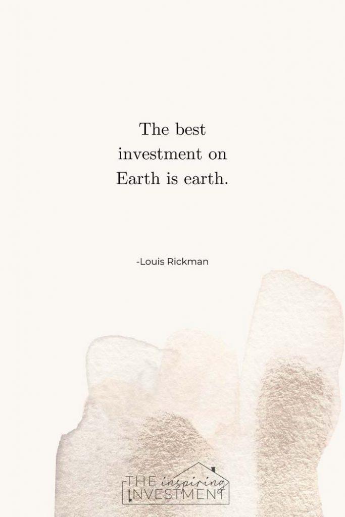 Louis Rickman real estate quote