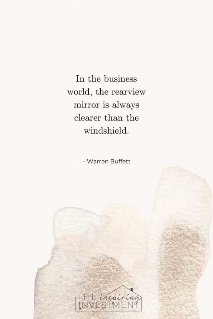 Warren Buffett real estate quote