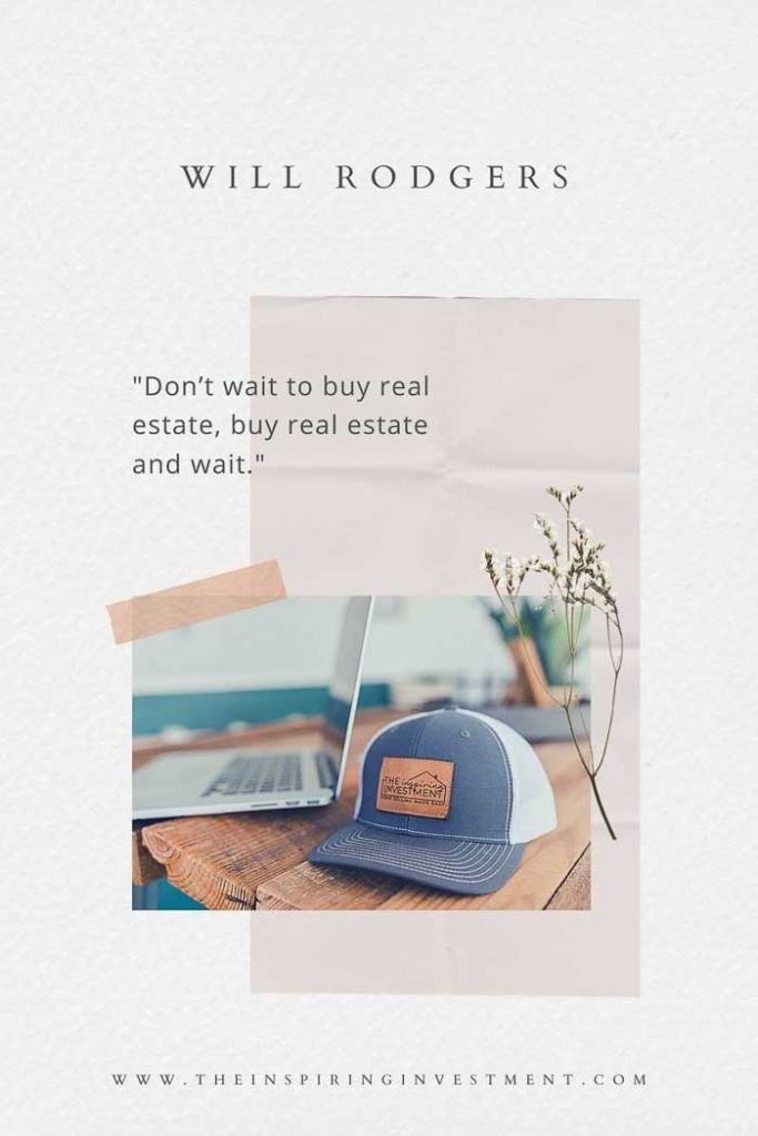 Will Rodgers real estate quote
