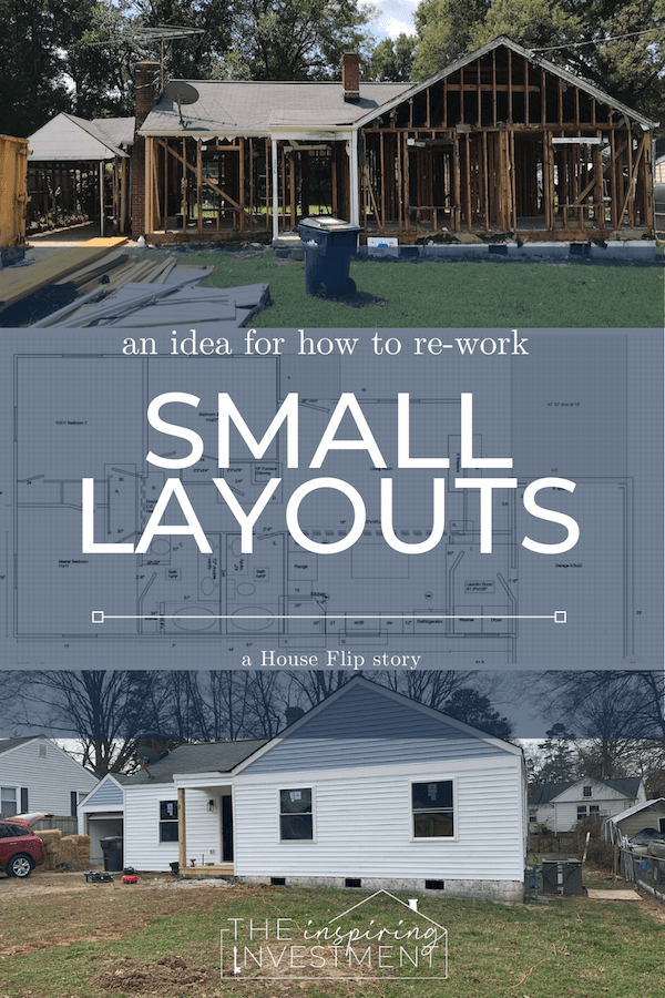 an idea for how to re-work small home layouts