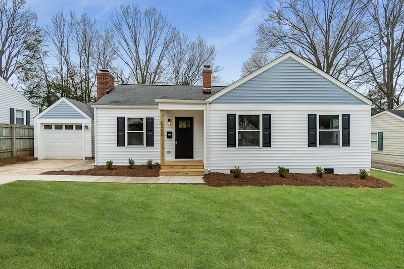 Dennis the Menace house flip in Raleigh NC featured by top house flipping blog, The Inspiring Investment