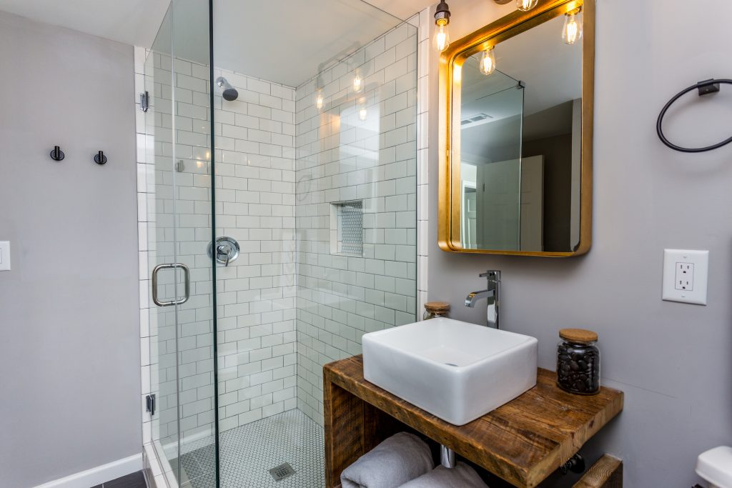A MODERN SPLIT LEVEL RENOVATION featured by top house flipping blog, The Inspiring Investment.