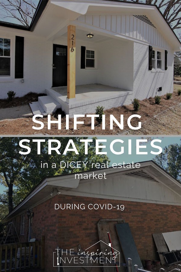 Shifting in a Dicey Real Estate Market for COVID-19: The Inspiring Investment