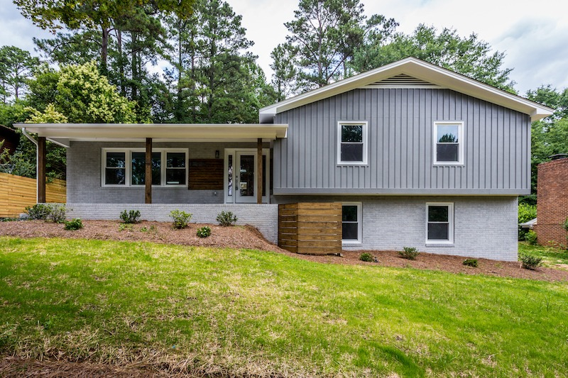 Flipping Houses in Raleigh NC: The Modern Split featured by top House Flipping blog, The Inspiring Investment.
