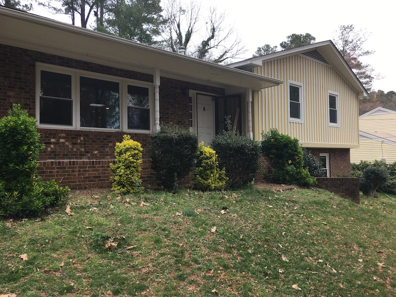 The modern split renovation in Raleigh NC featured by top house flipping blog, The Inspiring Investment