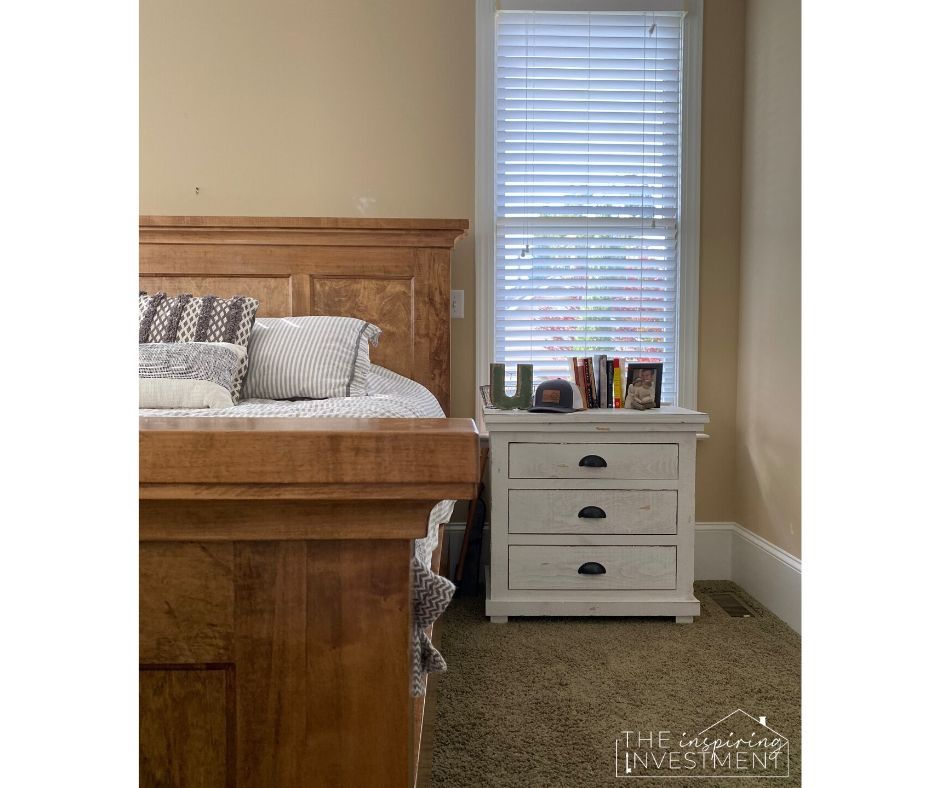 our master bedroom furniture is mis-matched and feels heavy