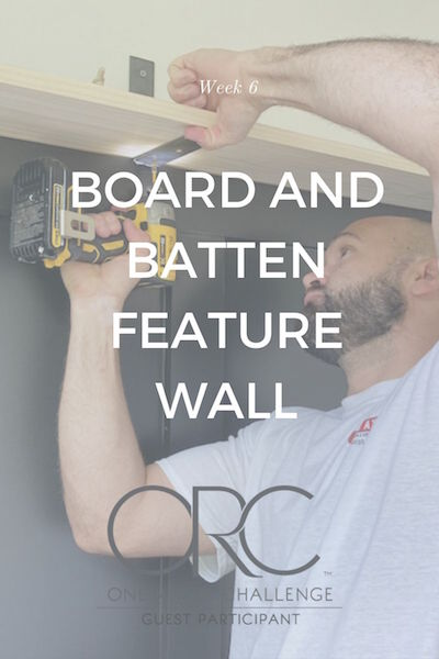 board and batten feature wall tutorial featured by top house flipping blog, The Inspiring Investment