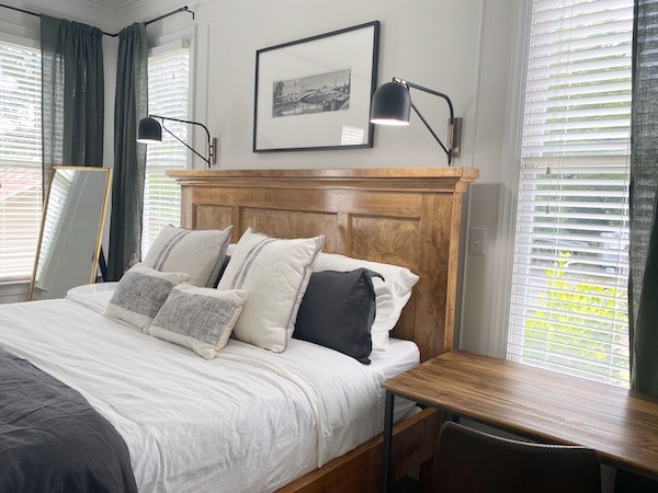 one room challenge: the Master bedroom featured by The Inspiring Investment