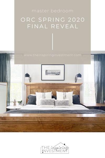ORC Spring 2020: Master Bedroom Final Reveal