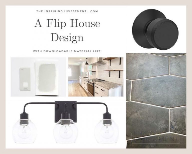 The Ultimate House Flip Materials List!
