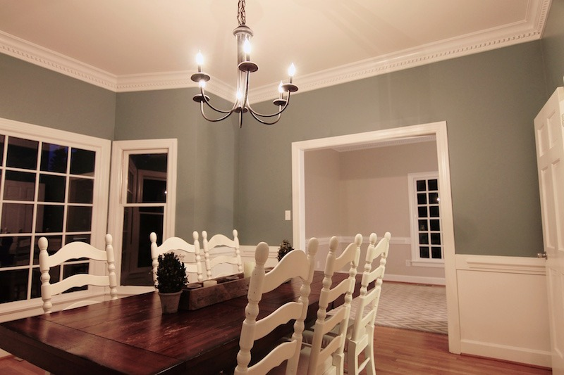 Colonial House Flip project featured by top house flipping blog, The Inspiring Investment.
