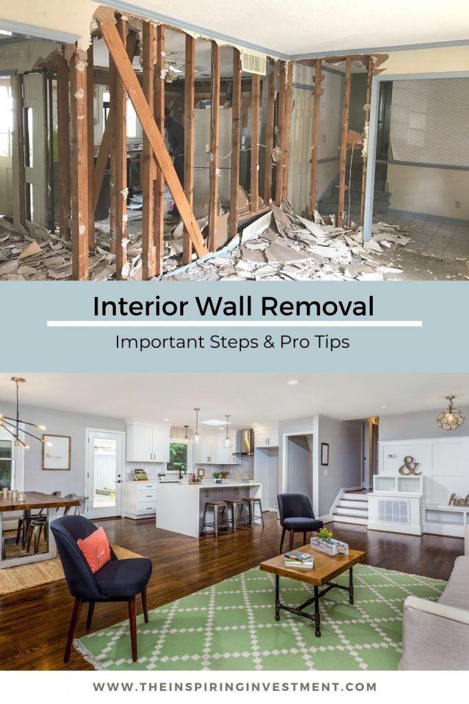 interior wall removal steps and tips