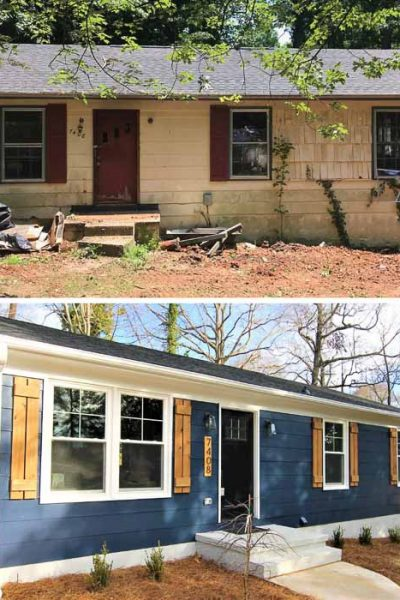flipping a house before and after