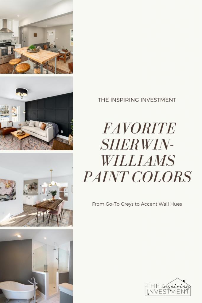 favorite sherwin-williams paint colors