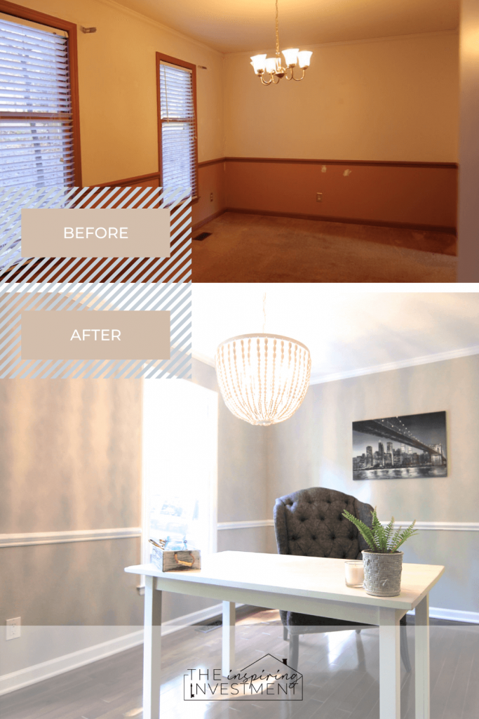before and after office | the inspiring investment